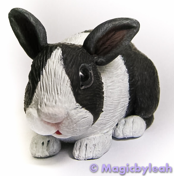 Polymer Clay Dutch Bunny 2