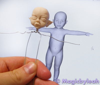 July Fairy Baby body armature