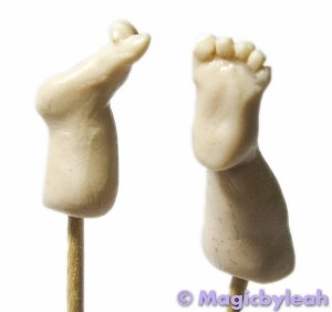 July Fairy – Sculpting The Baby Legs