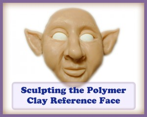 Sculpting My Polymer Clay Reference Face