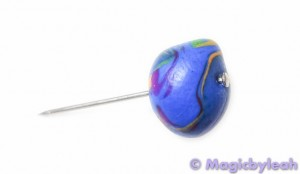 Polymer Clay Rainbow Sculpting Tools needle in clay
