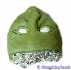 The Green Man Facial Experiments in Polymer Clay