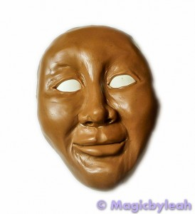 Practicing Polymer clay Faces face 2
