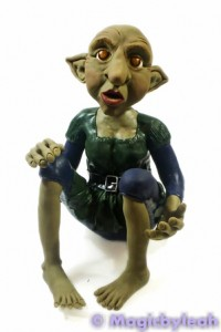 Polymer Clay Female Troll clothed