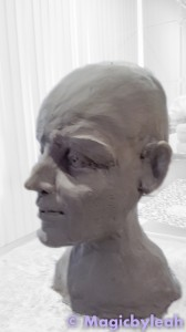 Sculpting an Amateur Terracotta Face 11