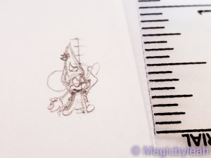 tiny Mickey Mouse concept sketch