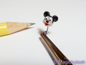 tiny Mickey Mouse face