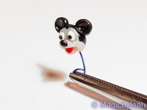 tiny Mickey Mouse head